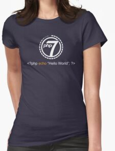Php 7 Programming T-shirt - Unique Gift for Programmer Womens Fitted T-Shirt
