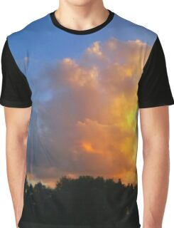 Sunset Across the Street Graphic T-Shirt