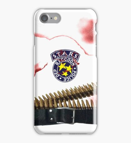Captian Wesker,Where's Chris? iPhone Case/Skin