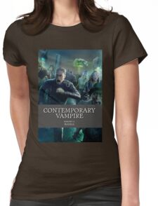Contemporary Vampire Womens Fitted T-Shirt