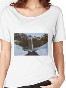Seljalandsfoss, South Coast, Iceland Women's Relaxed Fit T-Shirt