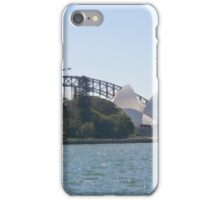Sydney oprah house and bridge iPhone Case/Skin