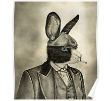peaky blinders rabbit Poster