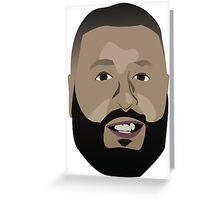 DJ Khaled Vector Graphic Greeting Card