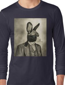 peaky blinders rabbit Long Sleeve T-Shirt