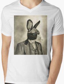 peaky blinders rabbit Mens V-Neck T-Shirt