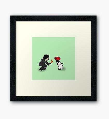 """""""Mushroom Xion"""" Framed Print"""