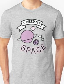 Introvert space galaxy awkward teen tumblr snapchat sticker print Unisex T-Shirt