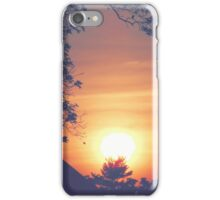 Sunset - glowing (2015) iPhone Case/Skin