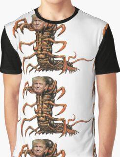Donald Trump Centipede Graphic T-Shirt