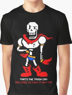 Papyrus - That's The Trash Can Graphic T-Shirt