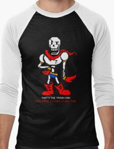Papyrus - That's The Trash Can Men's Baseball ¾ T-Shirt