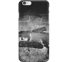 Black and White Fire iPhone Case/Skin