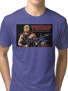 Rambo Trump Tri-blend T-Shirt