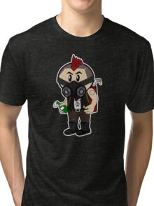 Arsonist Character Vector Graphic Tri-blend T-Shirt