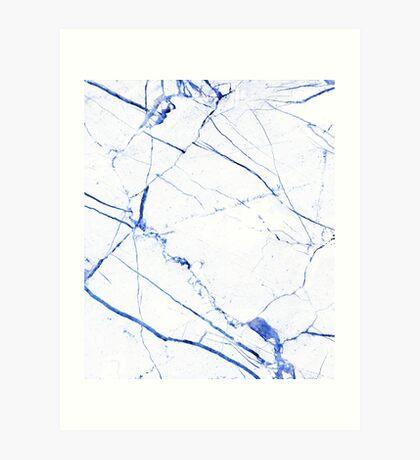 Marble Art V23 Art Print