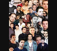 Sebastian Stan Collage  Unisex T-Shirt