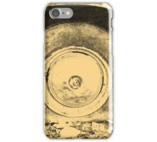 Old Wheel Of Classic Car iPhone Case/Skin