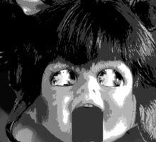 2001: A Doll's Odyssey (Grayscale) Sticker