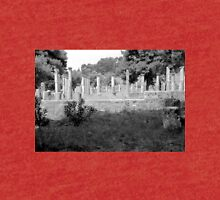 Standing Pillars, Olympia, Greece Tri-blend T-Shirt