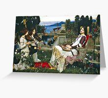John William Waterhouse - Saint Cecilia Greeting Card