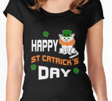 Happy St Catrick's Day  Women's Fitted Scoop T-Shirt