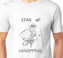 Saxophone Stax of Saxappeal Unisex T-Shirt