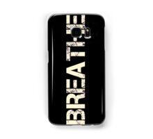 Breathe (Neon Pink) Samsung Galaxy Case/Skin
