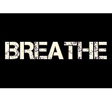 Breathe (Neon Pink) Photographic Print