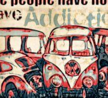 Addictions Sticker