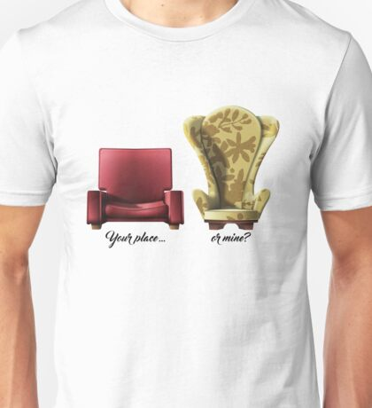 Carl and Ellie chairs from Up Movie Unisex T-Shirt