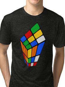 Surreal Rubik's Tri-blend T-Shirt