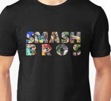 Smash Bros Typography Unisex T-Shirt