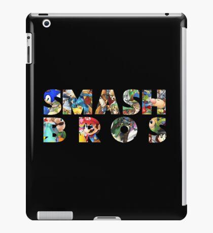 Smash Bros Typography iPad Case/Skin