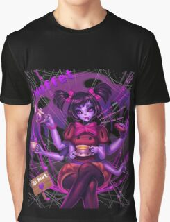 Undertale Muffet Graphic T-Shirt