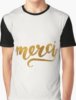 Merci Graphic T-Shirt