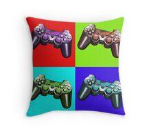 Game Controller Pop Art Throw Pillow