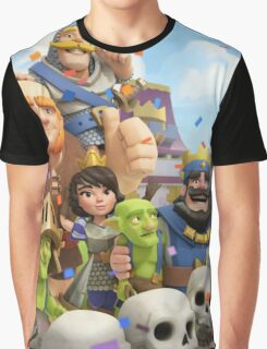 Clash Royale Troops Graphic T-Shirt