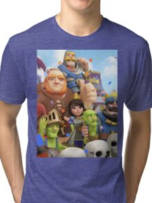 Clash Royale Troops Tri-blend T-Shirt