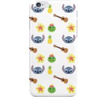 Stitch and scrump minimalist pattern iPhone Case/Skin