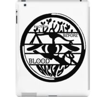 fandoms before blood and family iPad Case/Skin