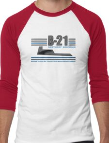 B 21 Men's Baseball ¾ T-Shirt
