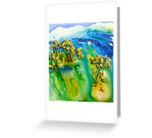 A moment alone Greeting Card