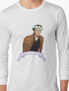 Leo and Flowers Long Sleeve T-Shirt