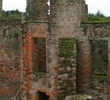 Caerlaverock Castle Sticker