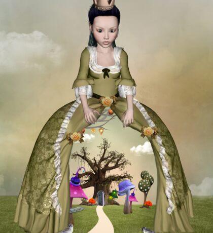 Wonderland queen Sticker