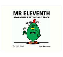 MR. ELEVENTH Art Print