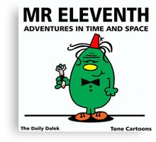 MR. ELEVENTH Canvas Print