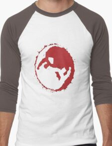 superman and batman yin yang Men's Baseball ¾ T-Shirt