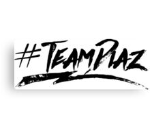 #TeamDiaz Canvas Print